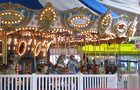 the modern version of the Freeman's carousel
