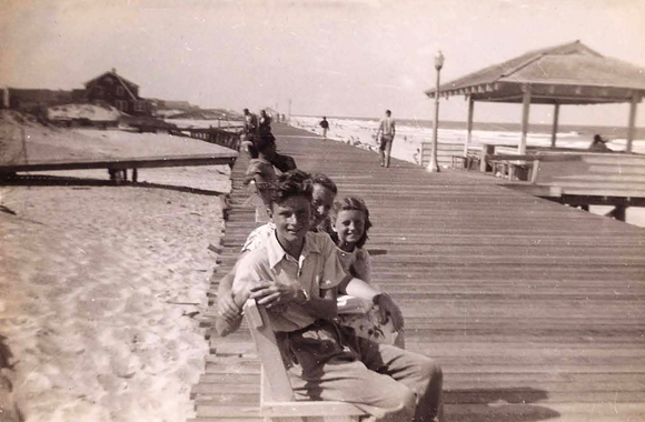 Seaside Heights boardwalk 1940s